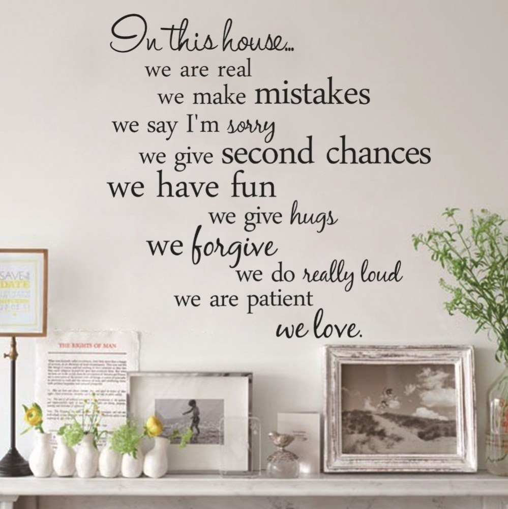 Wall Art Decals Quotes