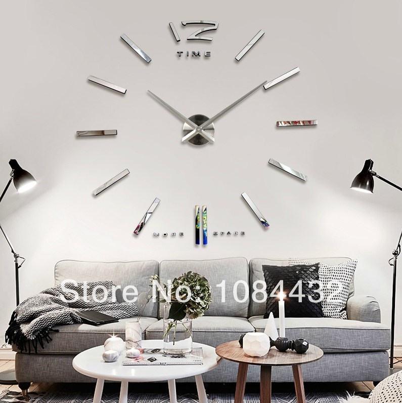 Wall Clock Decal