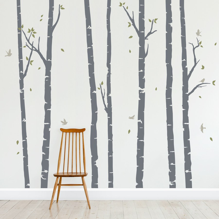 Wall Decal Birch Trees