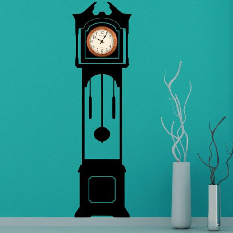 Wall Decal Clock