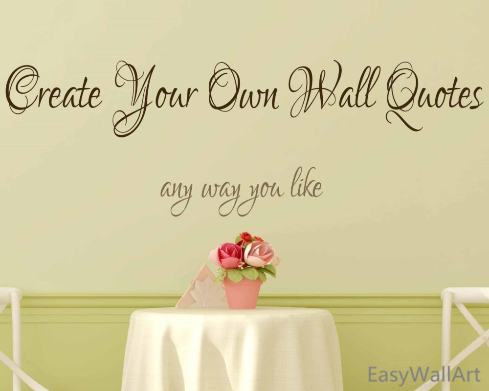 Wall Decal Custom Design