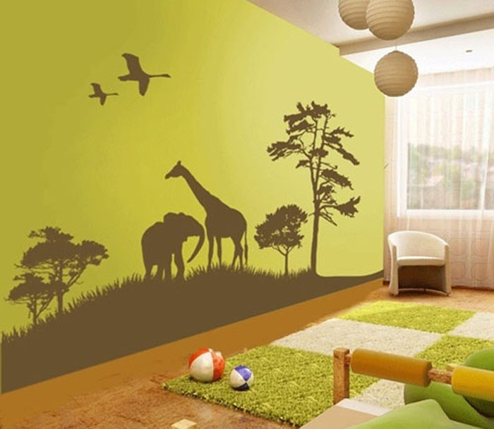 Wall Decal Decorating Ideas
