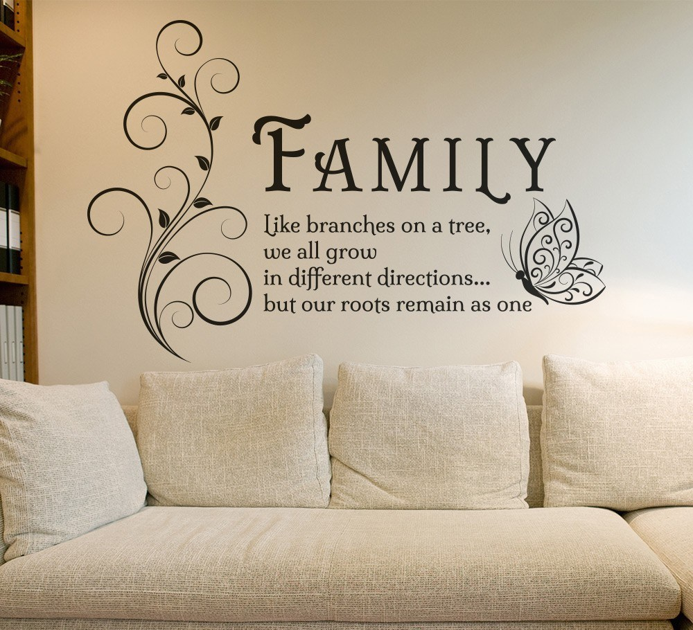 Wall Decal Family Quotes