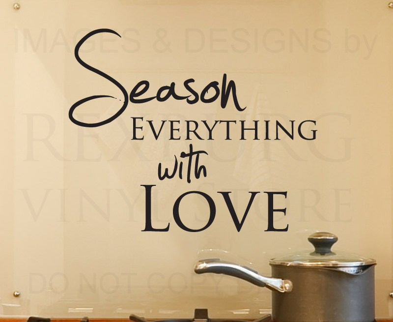 Wall Decal For Kitchen