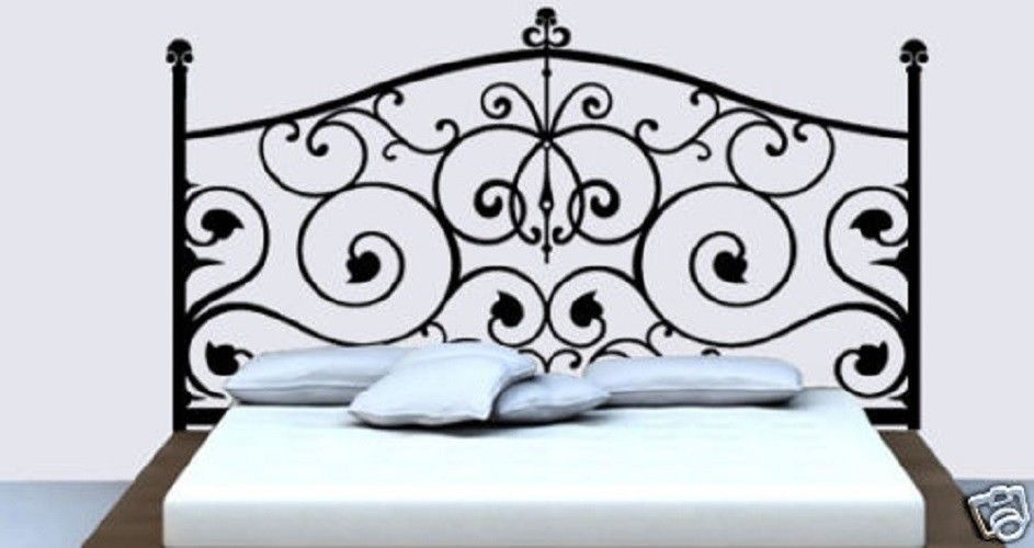Wall Decal Headboard Ideas