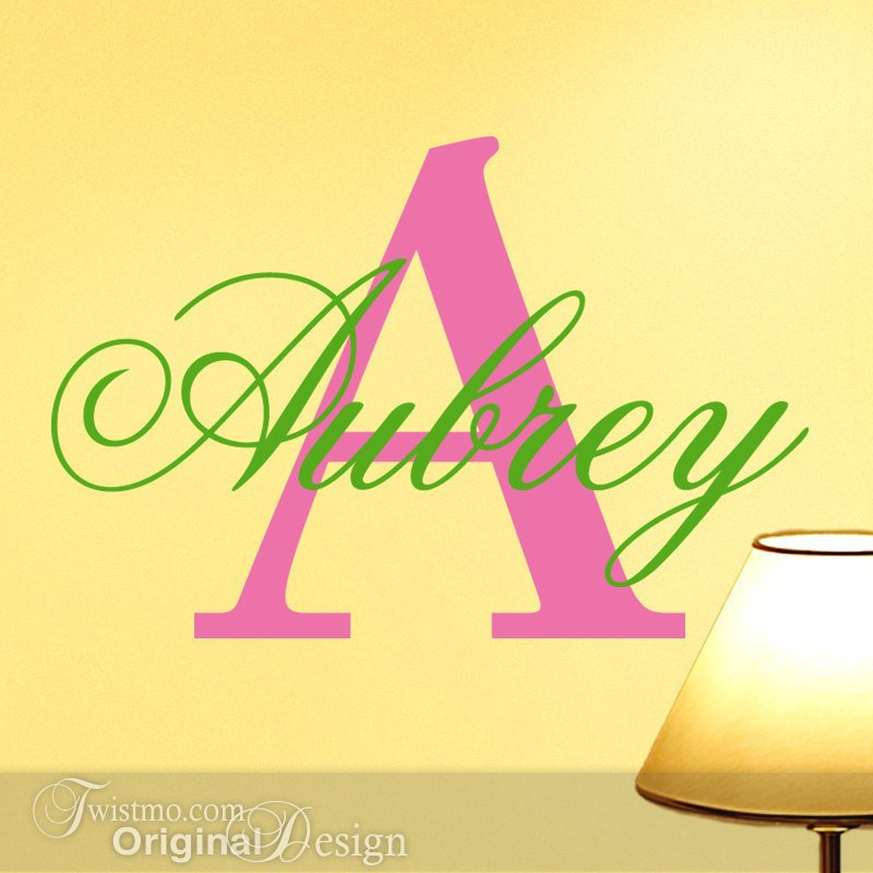 Wall Decal Letters