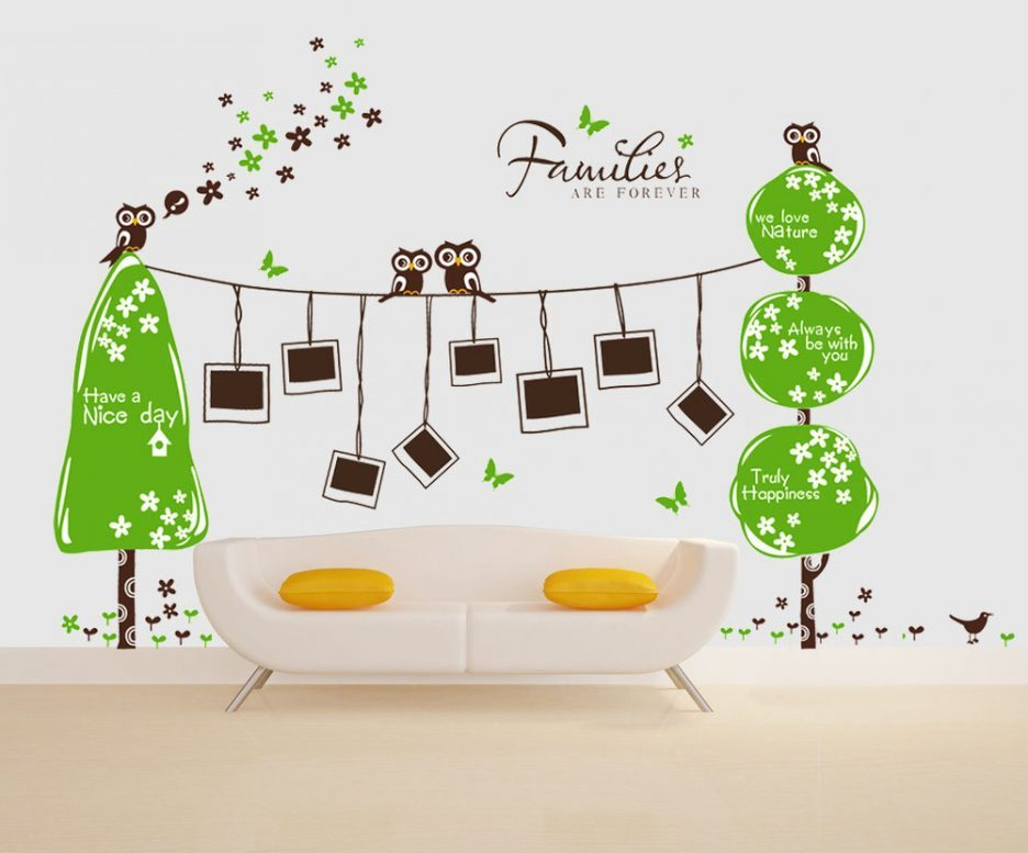 Wall Decal Picture Frames