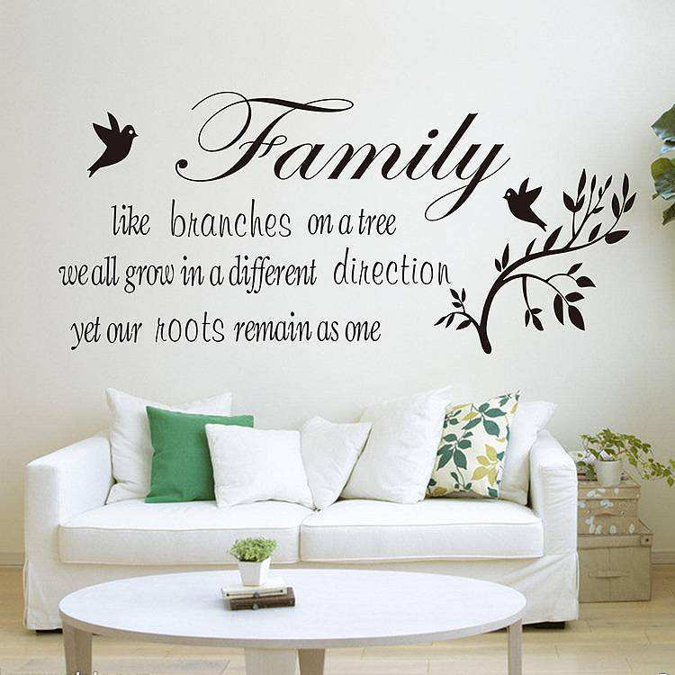 Wall Decal Quotes Family