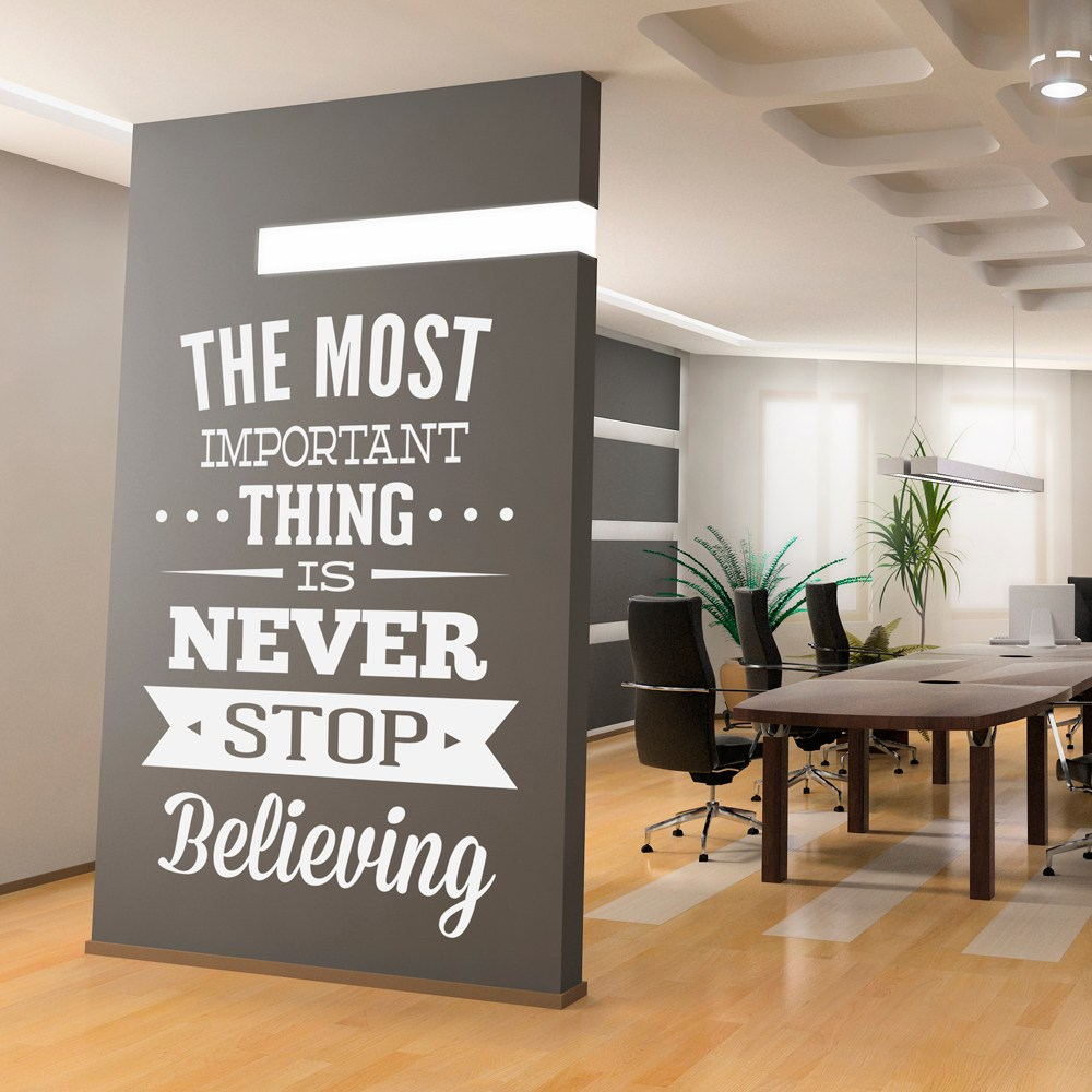 Wall Decal Quotes Office