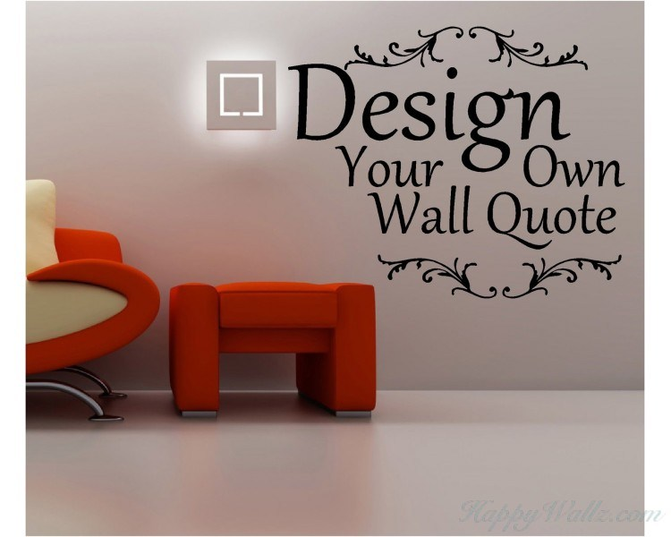 Wall Decal Words Custom