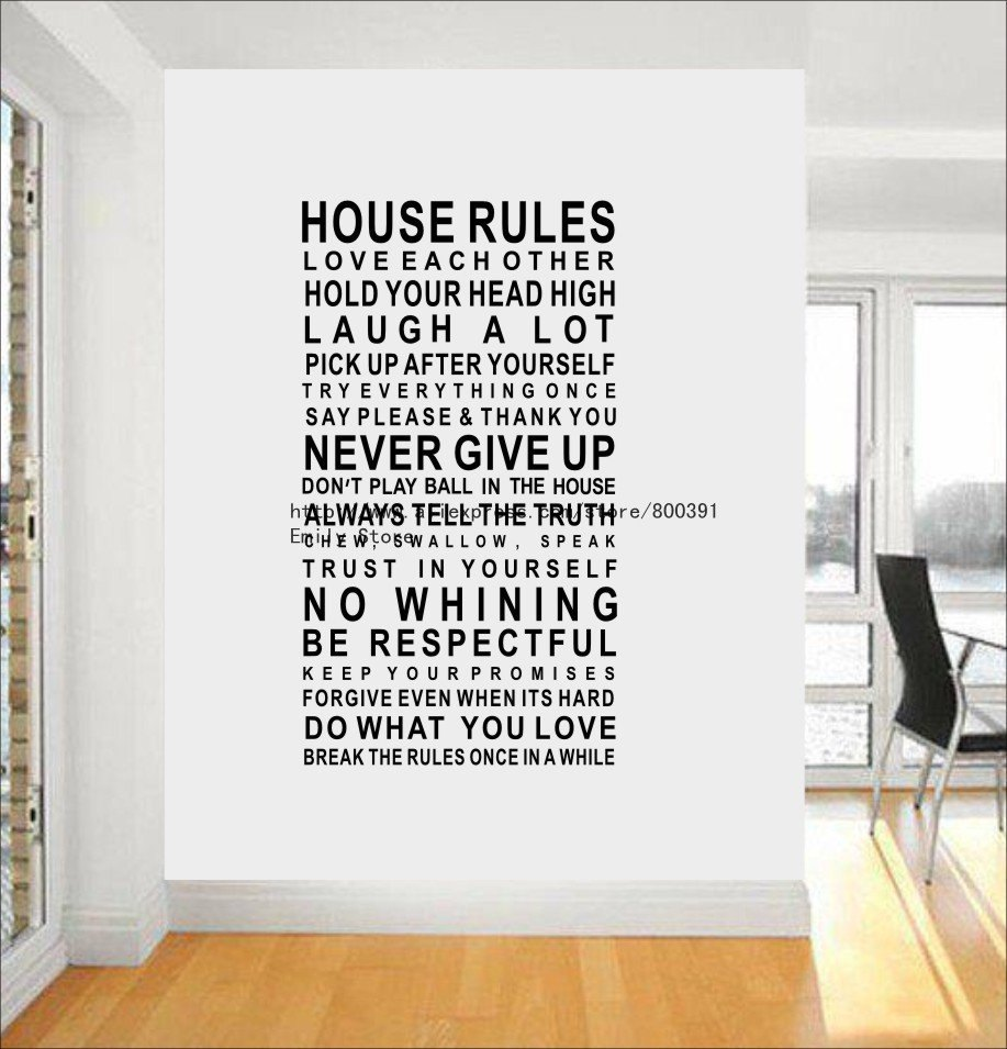Wall Decal Words