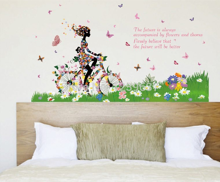 Wall Decals Butterflies And Flowers