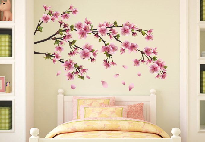 Wall Decals Cherry Blossom Tree
