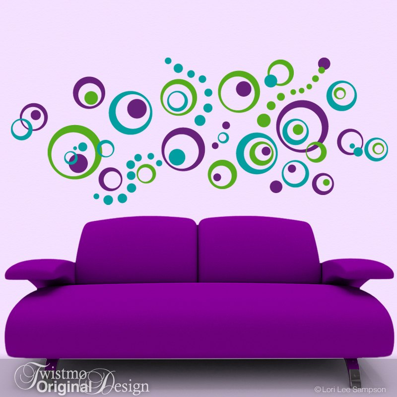 Wall Decals Circles Dots