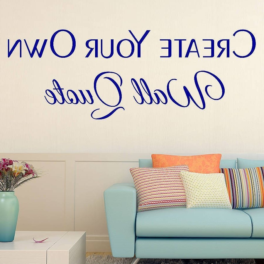 Wall Decals Custom Made