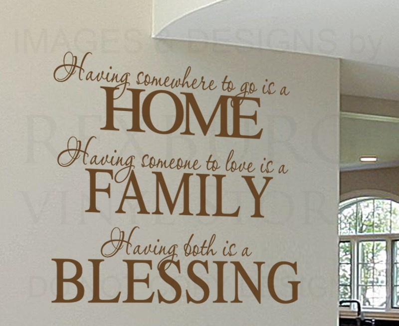 Wall Decals Family Quotes