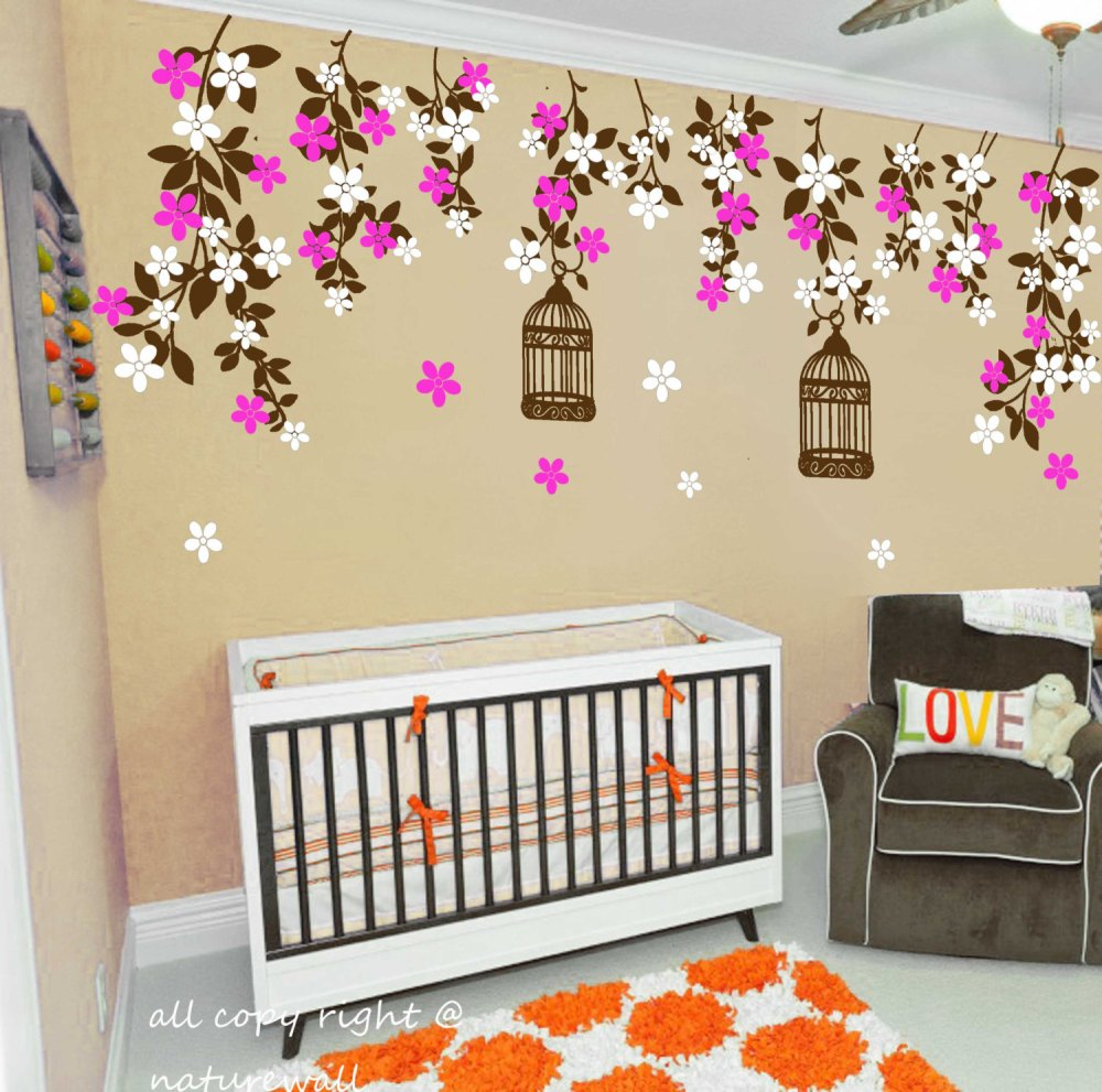 Wall Decals Floral Designs