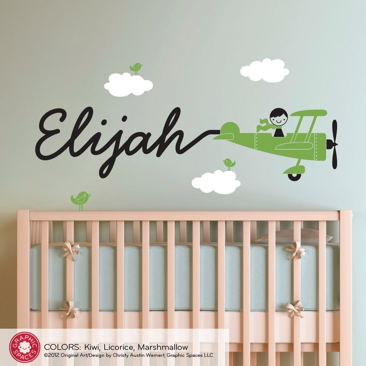 Wall Decals For Baby Boy