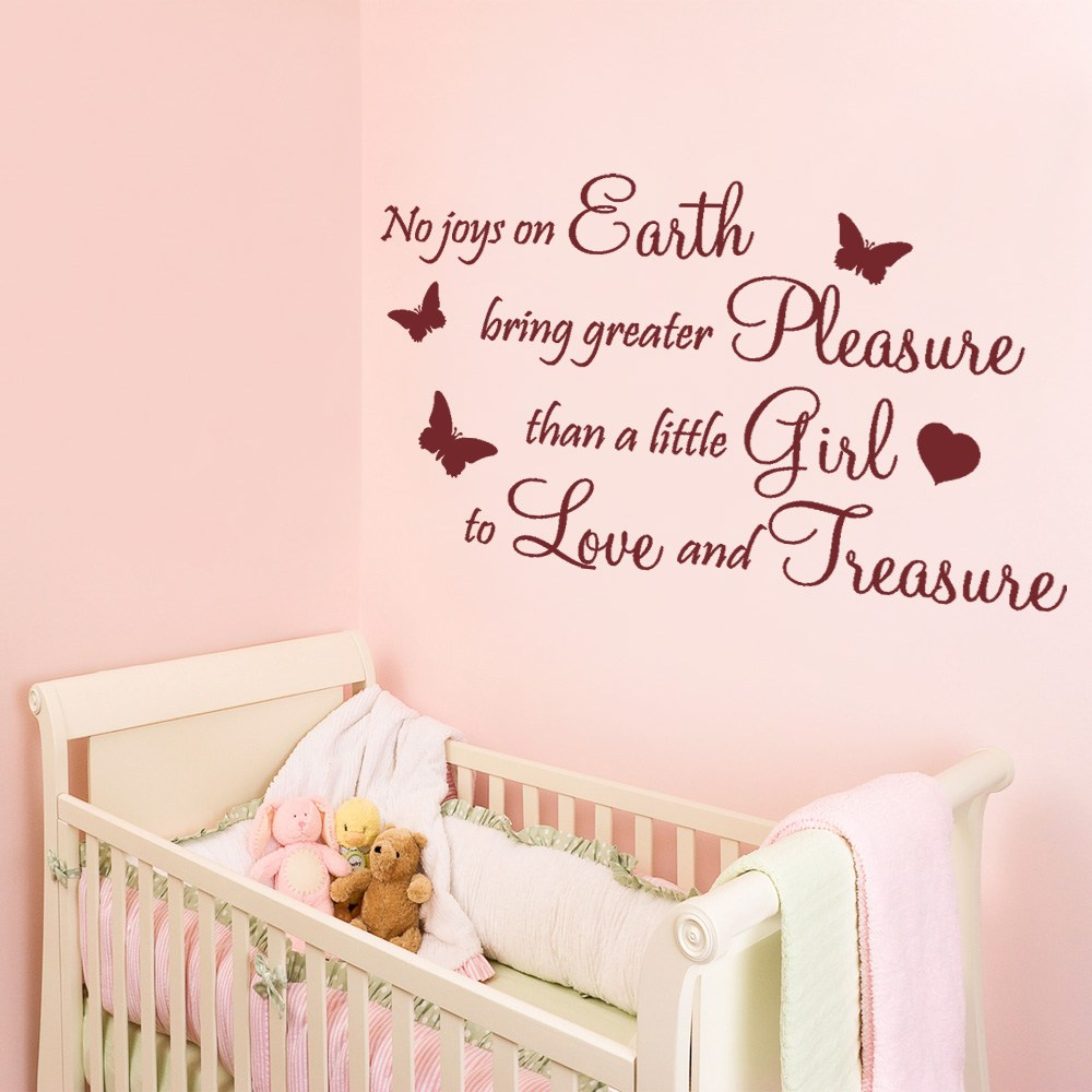 Wall Decals For Baby Girl Room