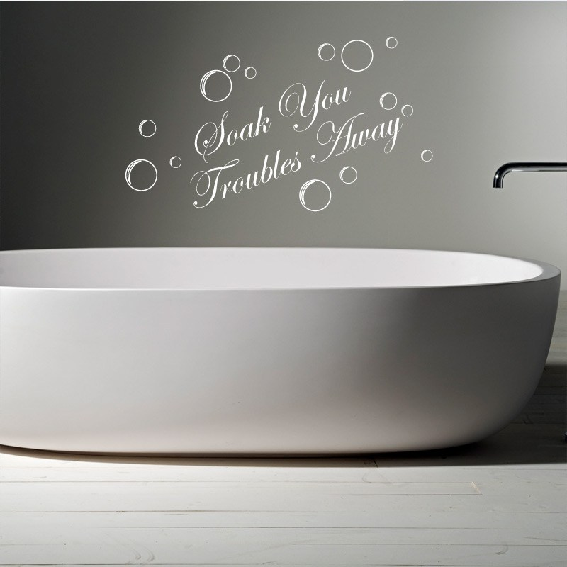 Wall Decals For Bathroom Quotes