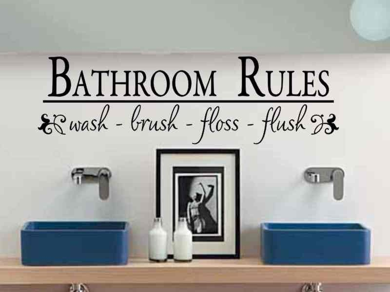 Wall Decals For Bathroom
