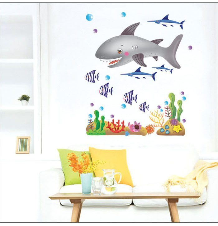 Wall Decals For Kids Bathroom