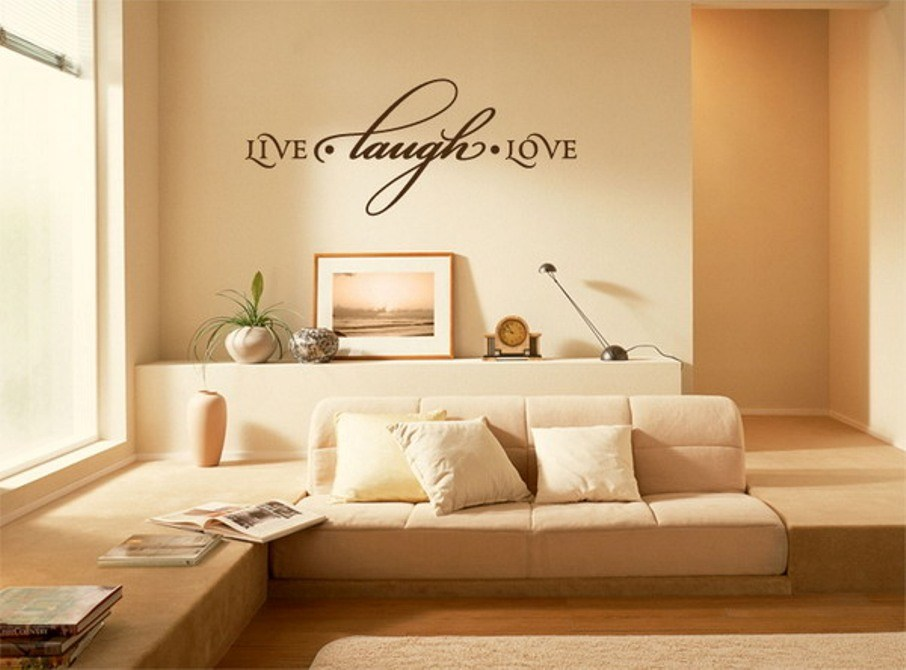 Wall Decals For Living Room Quotes