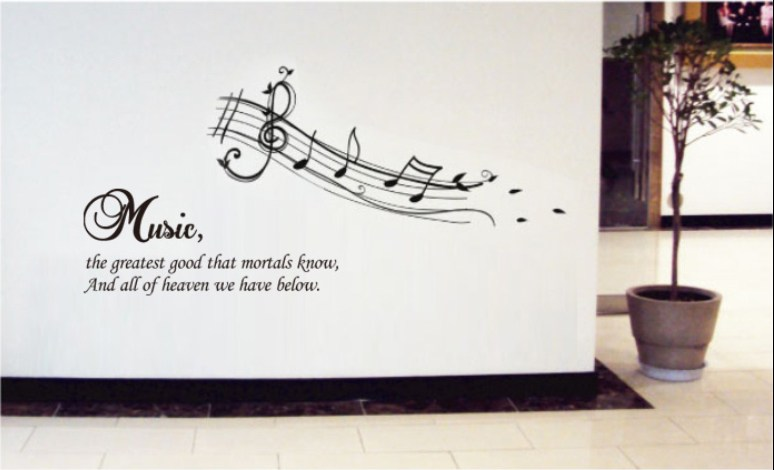 Wall Decals Music Notes