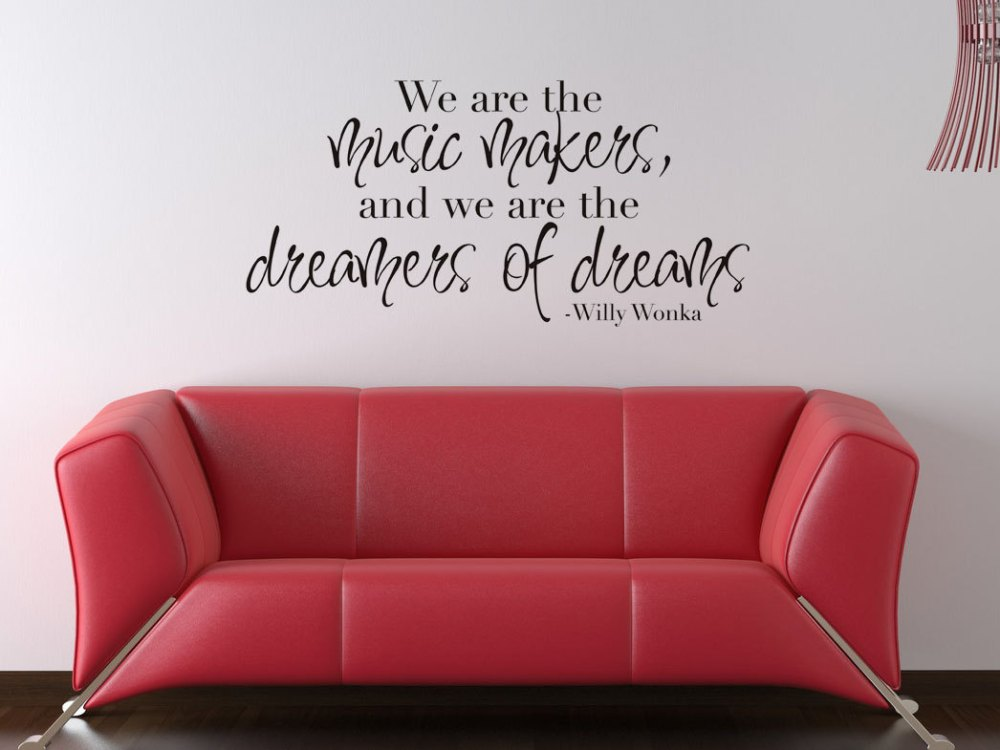Wall Decals Music Quotes