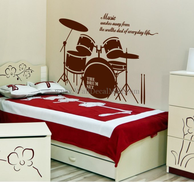 Wall Decals Music
