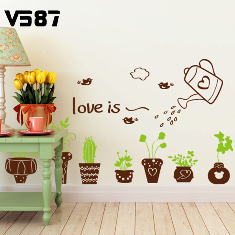 Wall Decals Nature And Plants
