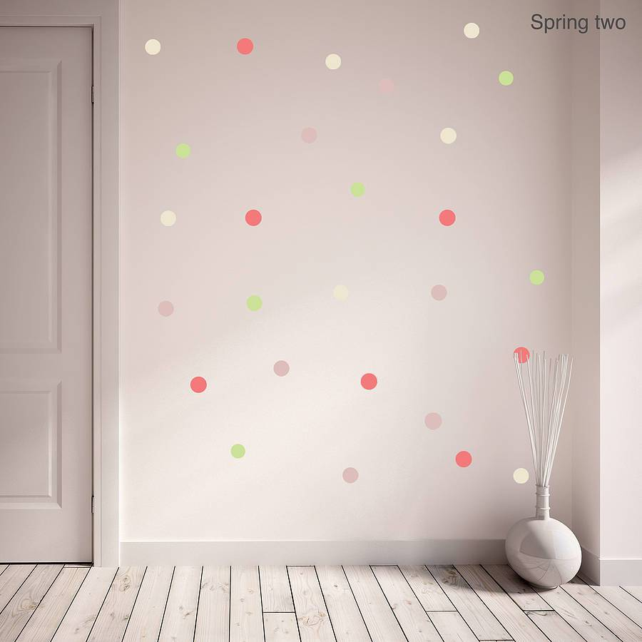 Wall Decals Polka Dots
