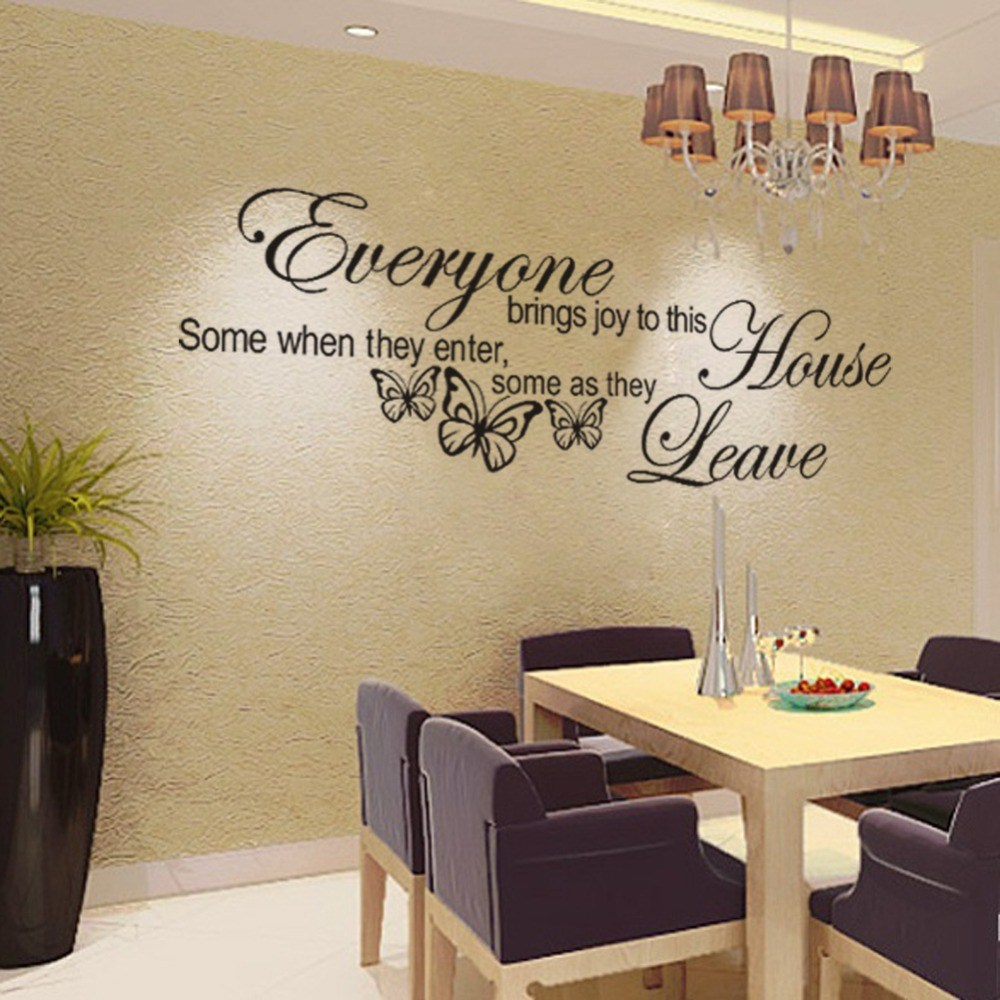 Wall Decals Quotes Living Room