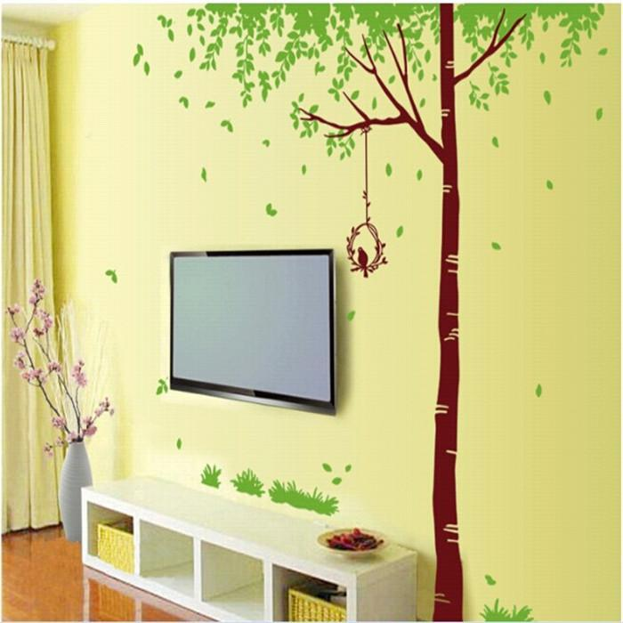 Wall Decals Trees And Birds