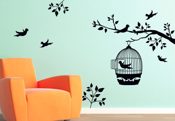 Wall Decals Trees And Flowers