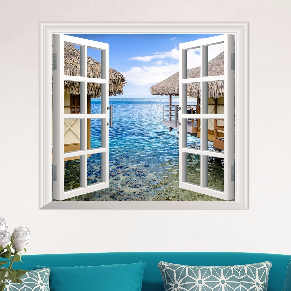 Wall Decals Window View