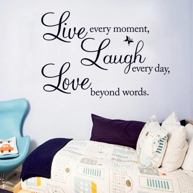Wall Decals Words Removable