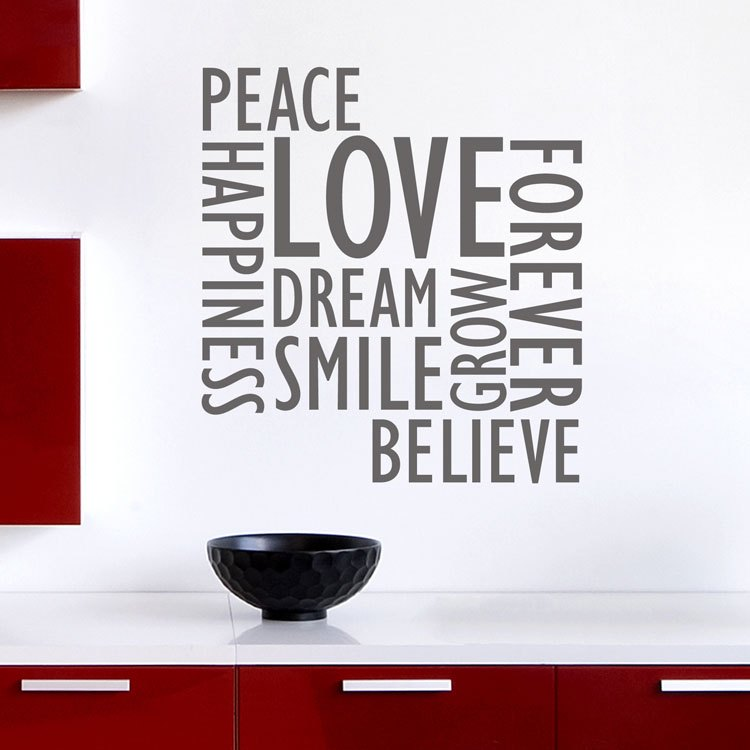 Wall Decals Words