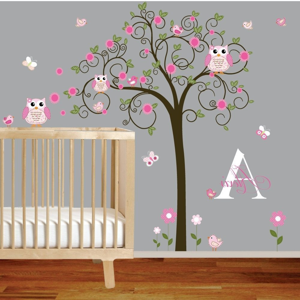 Wall Letter Decals For Nursery