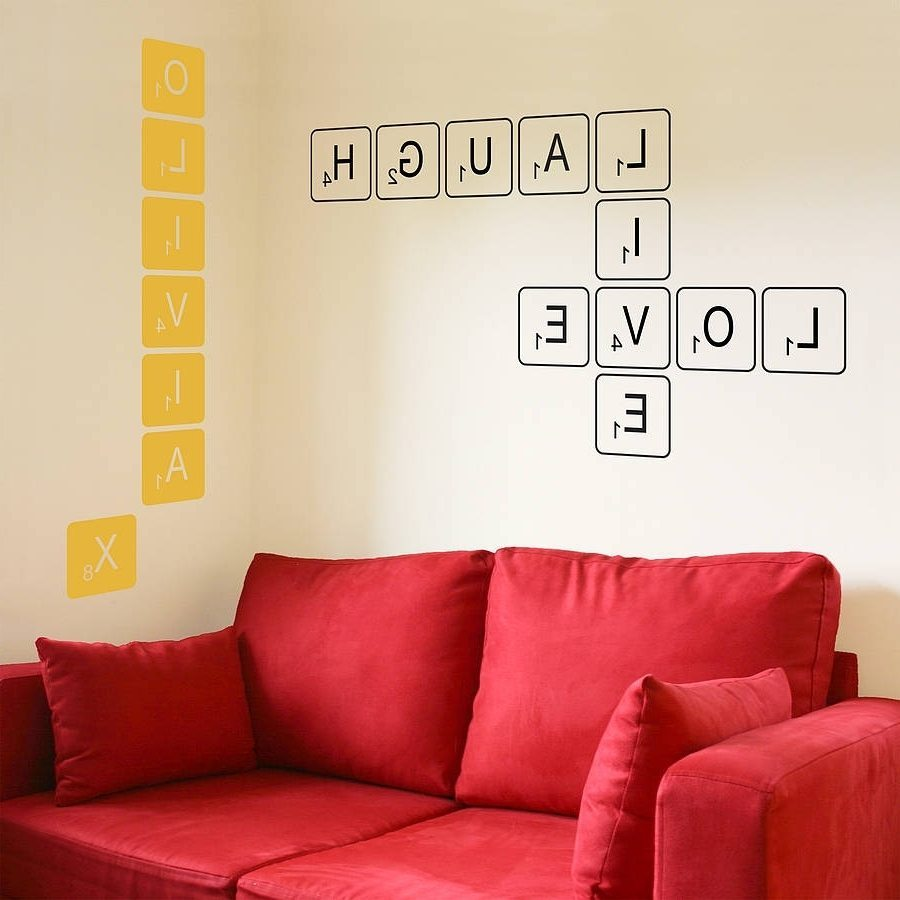 Wall Letters Decals