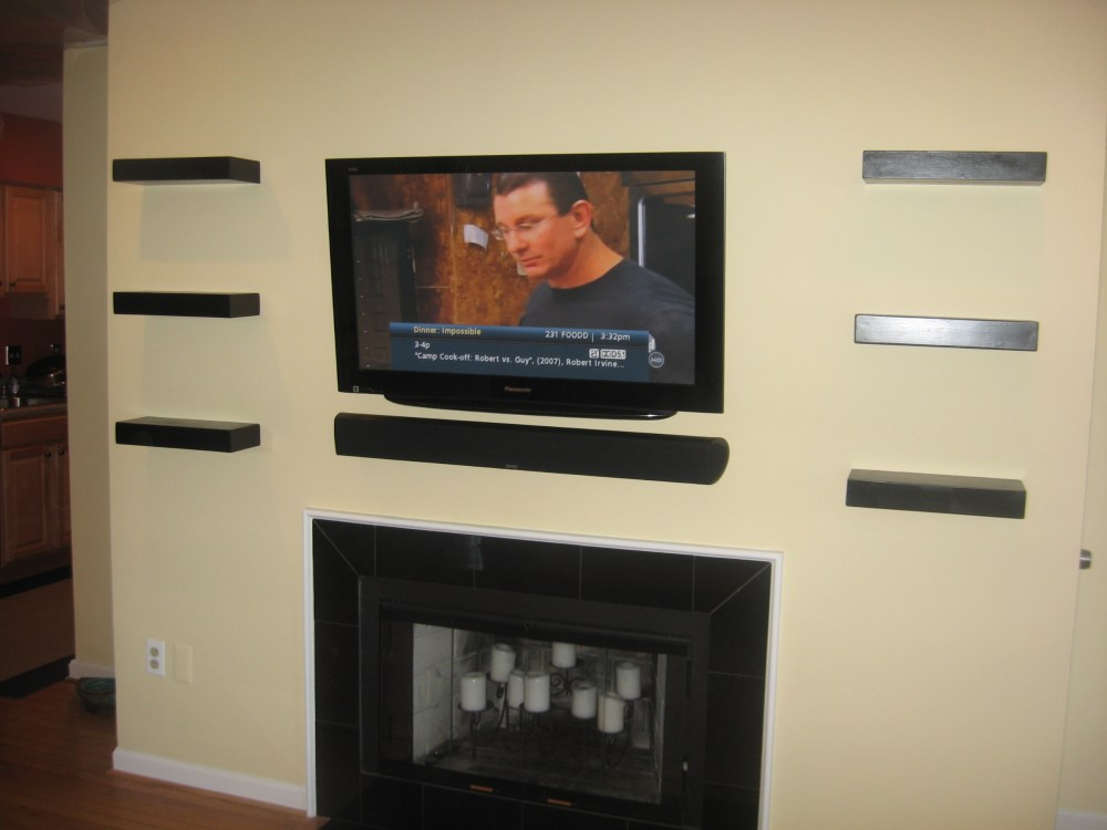 Wall Mount Tv Stand With Shelf