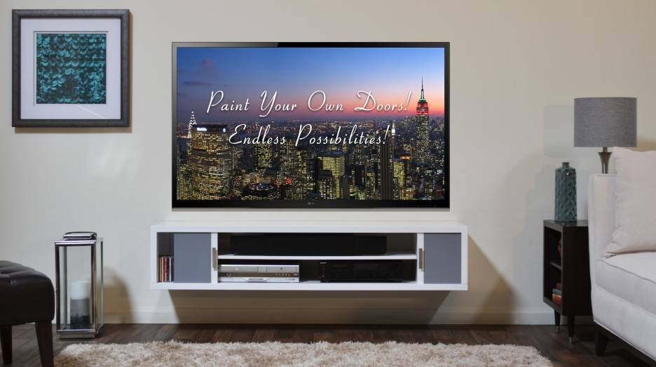 Wall Mount Tv Stand Wood