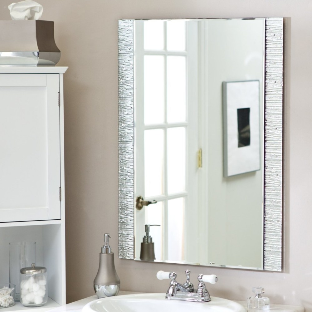 Wall Mounted Mirrors Bathroom