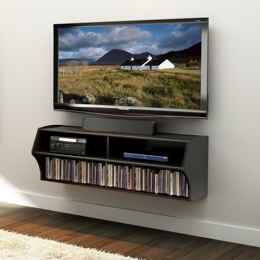 Wall Mounted Tv Floating Shelves