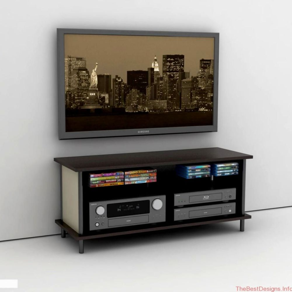 Wall Mounted Tv Stand With Shelves