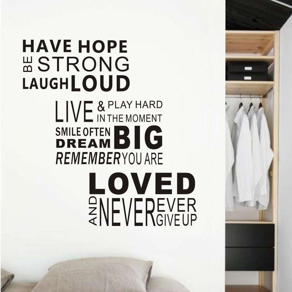 Wall Words Decals Quotes