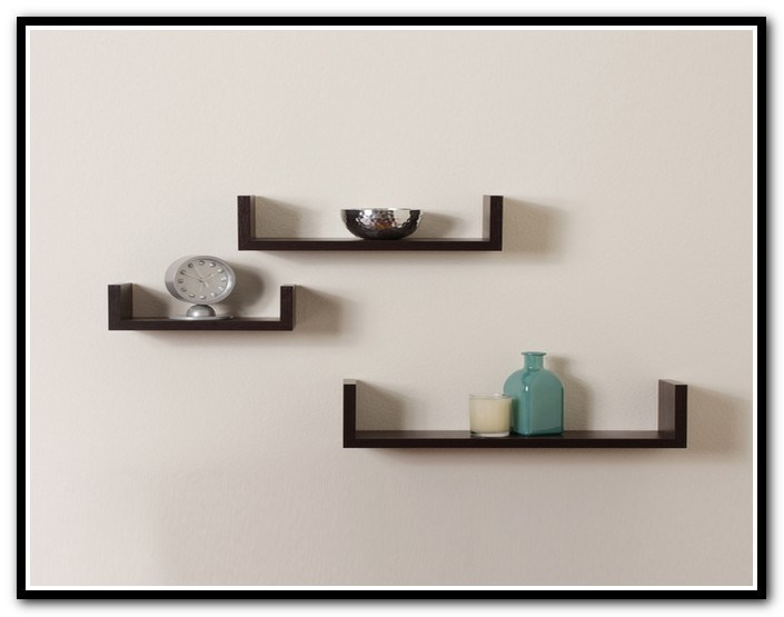 Walnut Floating Shelves Ireland