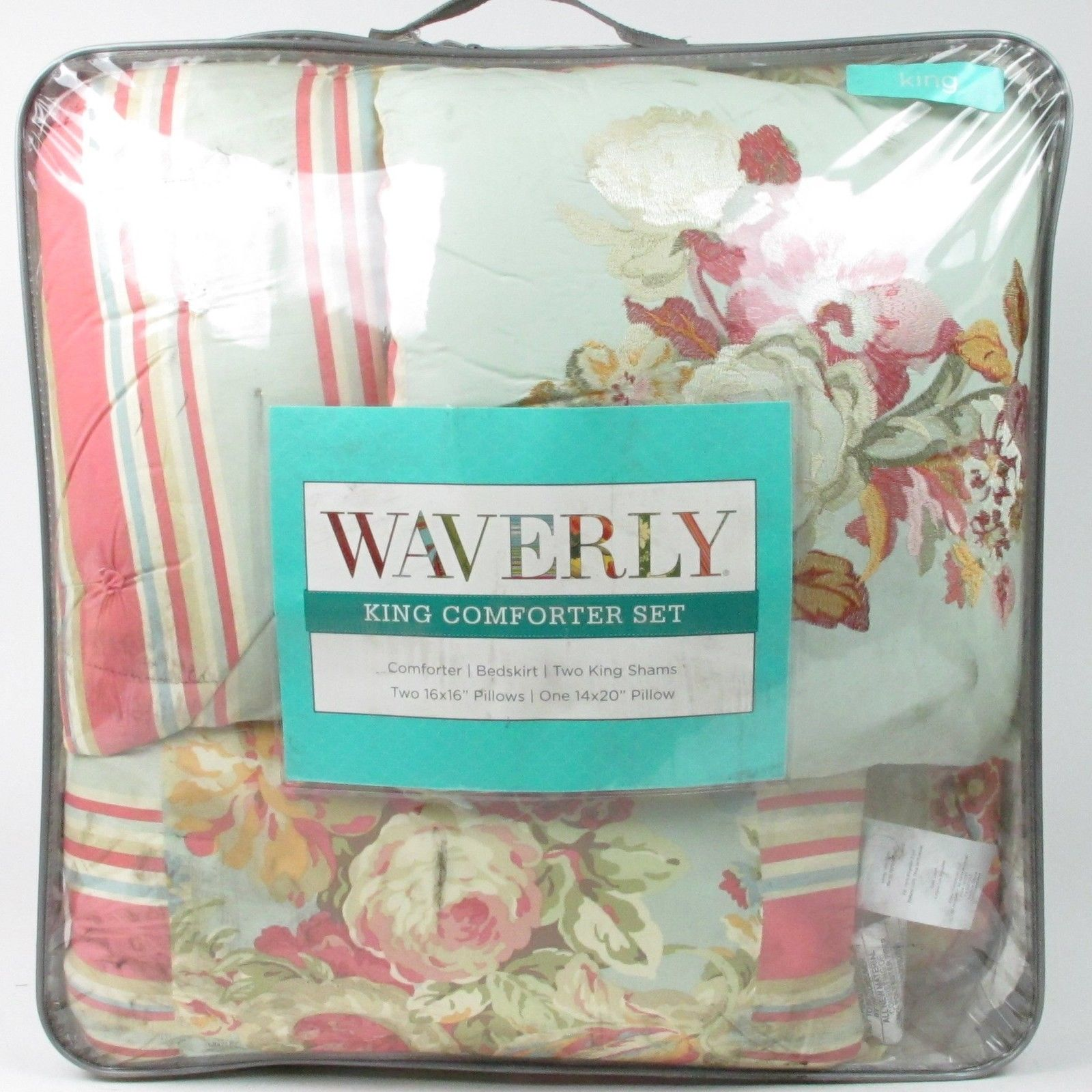 Waverly Glorious Garden Comforter Set