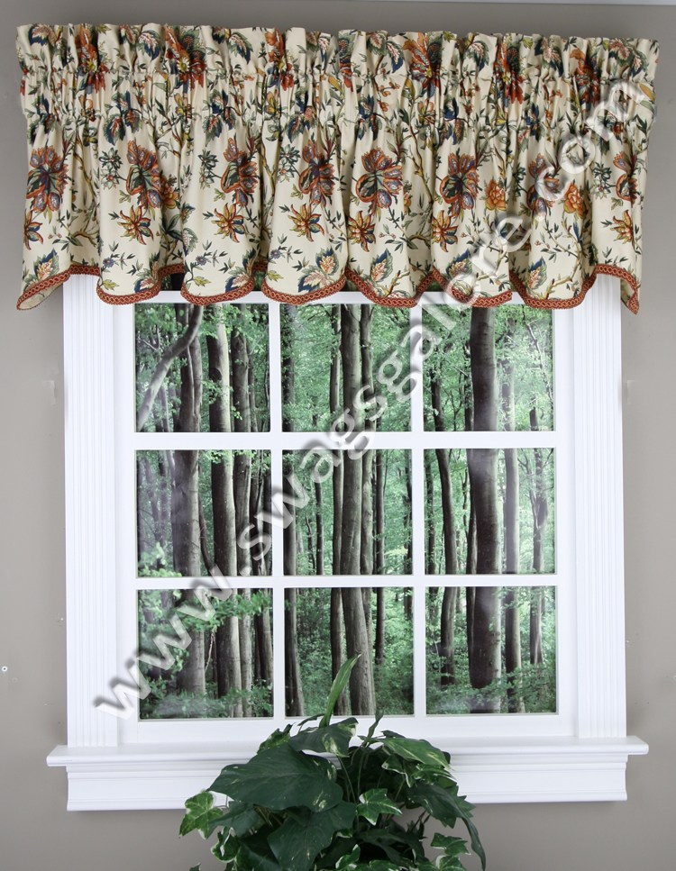 Waverly Kitchen Valances