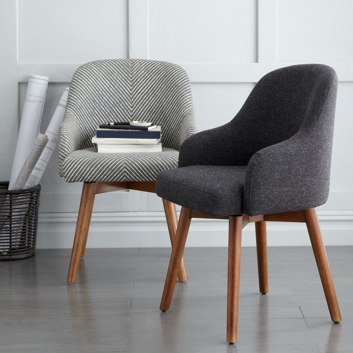 West Elm Saddle Office Chair